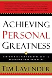 img - for Achieving Personal Greatness book / textbook / text book