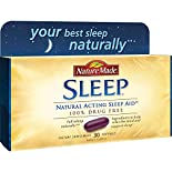 Nature Made Sleep Aid, Natural Acting, Liquid Softgels, 30 softgels