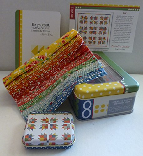 Moda Frivols #8 Collectors Tin with Bread and Butter by American Jane