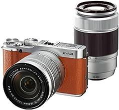 FUJIFILM デジタルカメラミラーレス一眼 X-A2Wズームレンズキット ブラウン X-A2BW1650II/50230II