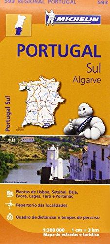 Mapa Regional Portugal Sur - Algarve (Carte regionali)