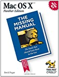 Mac OS X: The Missing Manual, Panther Edition (0596006152) by Pogue, David