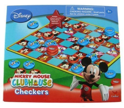 Disney ClubHouse Mickey Mouse Checkers - 1