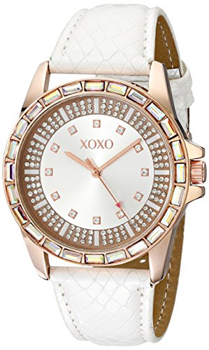 XOXO-Womens-XO3415-Analog-Display-Analog-Quartz-White-Watch