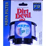 Dirt Devil Genuine Type F9 HEPA Filter, Fits Dirt Devil Classic and Purpose for Pets Hand Vacuumsby Dirt Devil