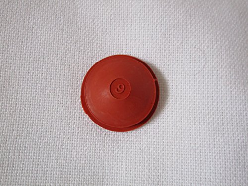 Brick Red Rubber Stopper for Banks with 1 Hole brick red rubber stopper for banks with 1 hole