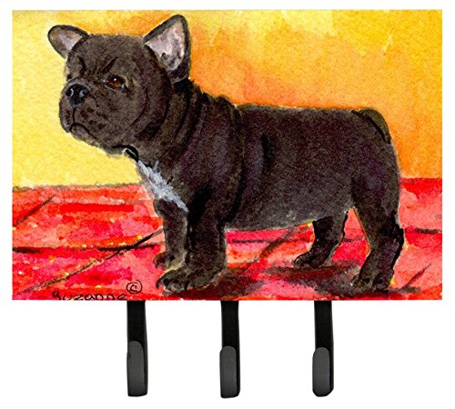 Caroline's Treasures SS8869TH68 French Bulldog Leash Holder or Key Hook, Large, Multicolor (French Bulldog Key Rack compare prices)