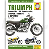 Haynes Manual for Triumph Bonneville 790cc 2001