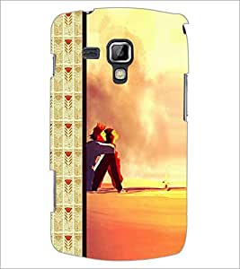 PrintDhaba Couple D-2685 Back Case Cover for SAMSUNG GALAXY S DUOS 2 S7582 (Multi-Coloured)