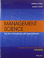 Management Science: The Art of Modeling with Spreadsheets, 4th Edition Front Cover