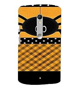 PrintVisa Girly Spider Design 3D Hard Polycarbonate Designer Back Case Cover for Motorola MotoXStyle