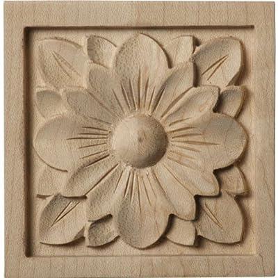 Ekena Millwork ROS03X03X00DGAL Small Dogwood Flower Rosette from Amazon.com, LLC *** KEEP PORules ACTIVE ***