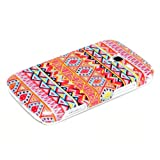 Samsung Galaxy Ace 2 Housse Portable Coque Poche �tui Dur Dos Hard Case Motif Orange zig zag