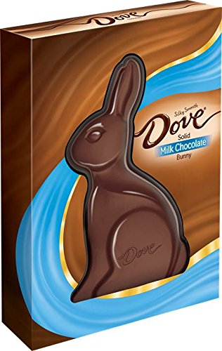 DOVE Easter Milk Chocolate Candy Solid Easter Bunny 12-Ounce