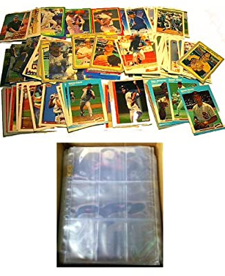100 SAN DIEGO PADRES Baseball Cards + 10 Binder Pages