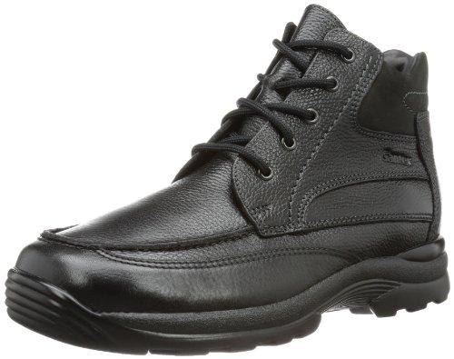 Ganter Mens Gordon, Weite G Boots Black Schwarz (schwarz 0100) Size: 9.5 (44 EU)