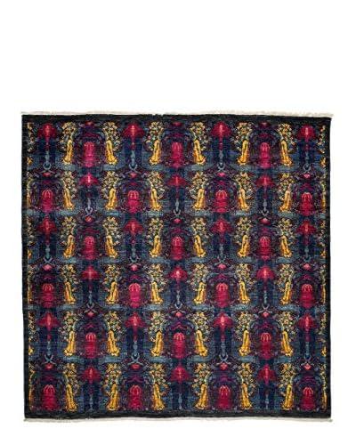 Darya Rugs Suzani Oriental Rug, Pink, 6′ 1″ x 6′ 2″
