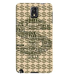 GADGET LOOKS PRINTED BACK COVER FOR Samsung Galaxy Note 3 MULTICOLOR