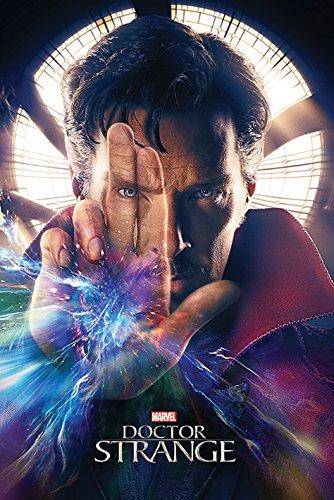 Doctor Strange mano Maxi Poster, multicolore