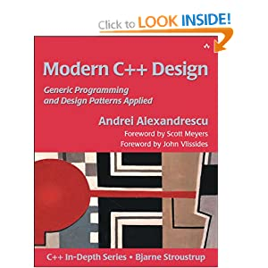 Modern C++ Design: Applied Generic and Design Patterns (C++ in Depth)