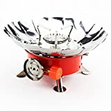 Spritech(TM) Windproof Portable Collapsible Backpacking Gas Camping Stove Picture