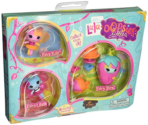 Lalaloopsy Mini Lala Oopsies Little Fairies-Green Style - 1