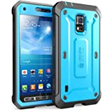 Samsung Galaxy S5 Active Case SUPCASE Unicorn Beetle PRO 衝撃吸収 全面保護 防塵 ハイブリッド ハードケース (Blue/Black)