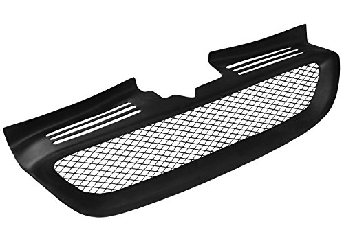 Dreamer Car Fiber Glass Front Grille Grill With Radiator Cap for Genesis Coupe 2008-2012 FRP-GNCP-FGR-B (Glass Radiator compare prices)