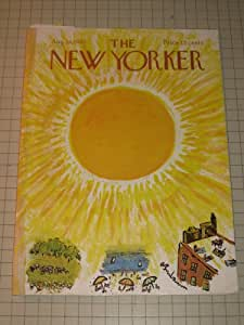 1965 The New Yorker: Charles Saxon - S.J.Perelman - The Artist in Russia - The Beatles - Donald Barthelme
