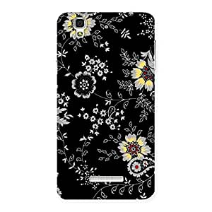 Impressive Classic Flower Back Case Cover for YU Yureka Plus