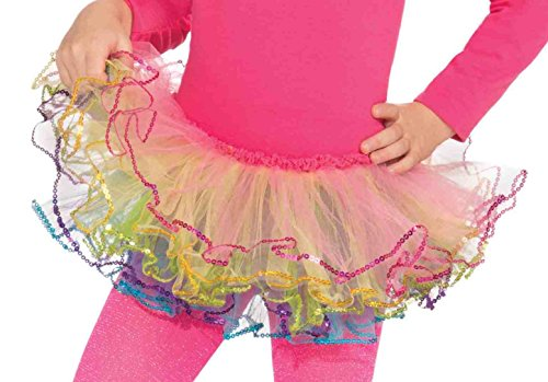 Forum Novelties Rainbow Pastel Tutu Costume, Child Size
