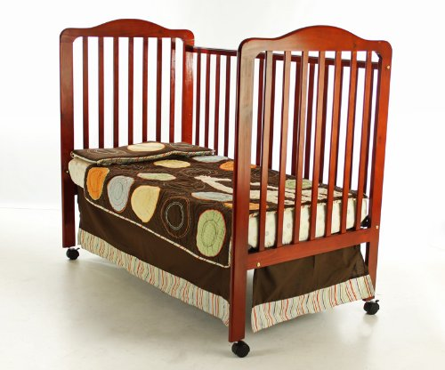Dream On Me Cumberland 2 In 1 Convertible Crib, Cherry