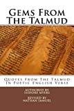 img - for Gems From The Talmud book / textbook / text book