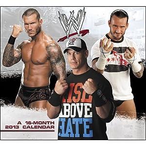 (11x12) WWE - 16-Month 2013 Wall Calendar