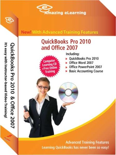 QuickBooks 2010 Complete Training with Microsoft Office 2007 (5 Training courses)