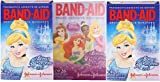 Disney Princess Band-aid Brand Adhesive Bandages 26 Count (3 Boxes)