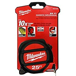 Milwaukee Electric Tool 48-22-5125 Magnet Tape Measure, 25