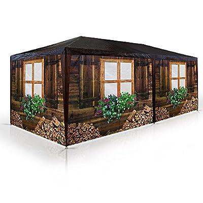 """Pavillon """"Skihütte/Almhütte"""" Partyzelt 3x6m - Bierzelt Gartenlaube Hüttendesign Pavillion Pavilion von Deuba® auf Gartenmöbel von Du und Dein Garten"""
