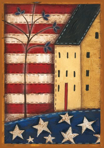 Toland Home Garden Land Of The Free House Flag 100557