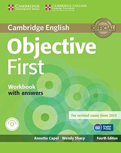 Objective first certificate. Workbook with answers. Con espansione online. Con CD Audio. Per le Scuole superiori