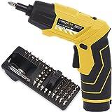 Akkuschrauber 3,6 Volt Li-Ionen Akku inkl. 54 tlg. Bit-Set und LED-Taschenlampe