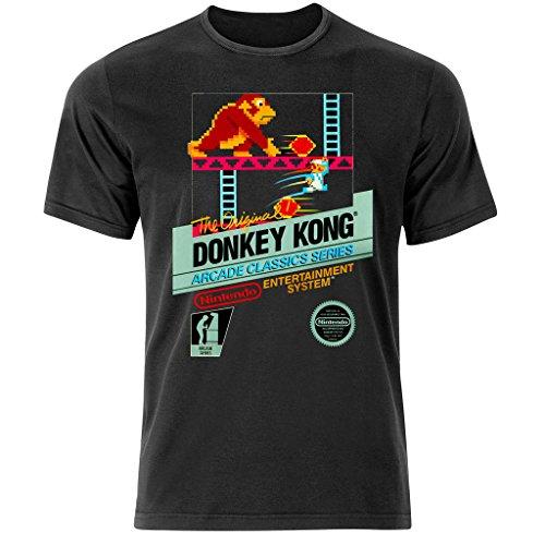 Donkey Kong Nintendo Retro Arcade Gamer T-Shirt - Mario Pac Man Space Invaders (s-3xl)