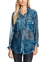 Meltin Pot Camisa Mujer Cleaa (Azul)