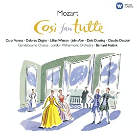 Cos� fan tutte K588, Act One, Scene Three: Recitativo: L'inatta fede che ... (Fiordiligi)