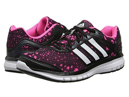 (アディダス) adidas 靴・シューズ レディースランニングシューズ adidas Running Duramo 6 Black/White/Solar Pink US 7.5 (24.5cm) B