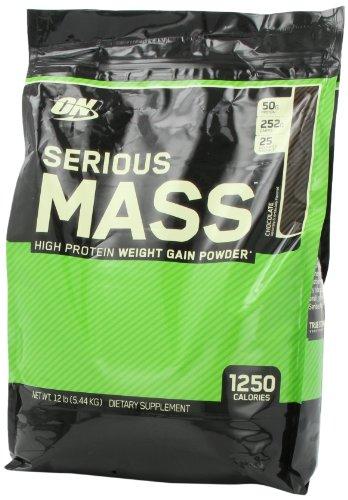 Serious mass chocolate 12 lbs