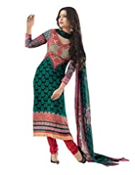 IndiWeaves Summer Collection Casual Wear Cotton Satin salwar suit dress material