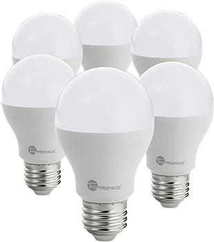 6-Pack TaoTronics 60W Equiv A19 LED Light Bulbs