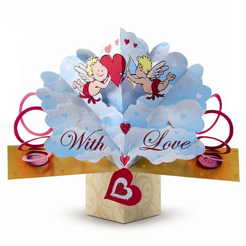 THE ORIGINAL POP UPS - 39475 - CUPID - VALENTINE'S DAY CARD