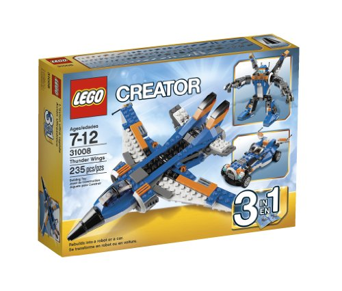 Lego Creator Thunder Wings 31008 back-869380